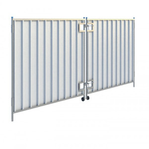 Hoarding Vehicle Gate